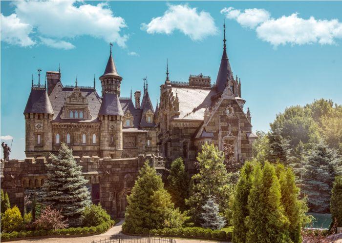 Замок Гарибальди в селе Хрящевка (10 фото)