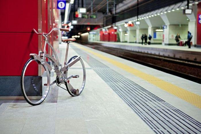 Прототип складного велосипеда будущего (21 фото)