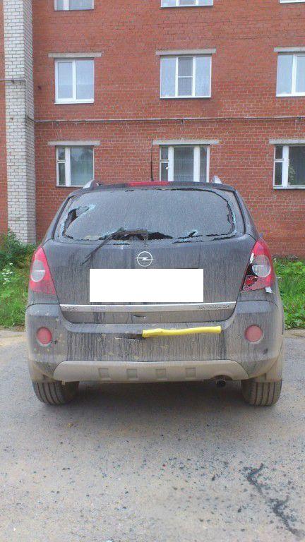 Автомобильная месть по-свердловски (4 фото)