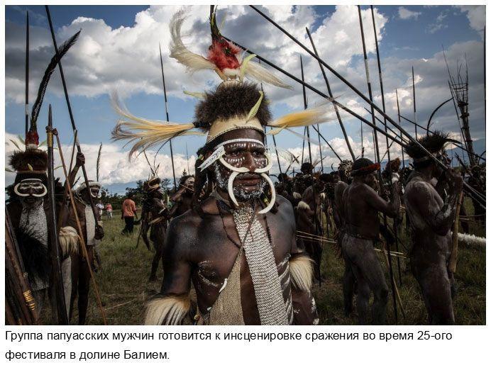 Народ Дани: жизнь по традициям каменного века в современном мире (16 фото)