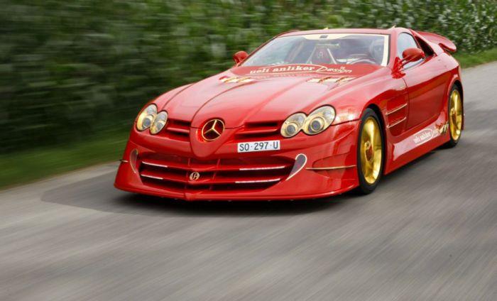 Авто за 10 миллионов долларов на базе Mercedes McLaren SLR (42 фото)