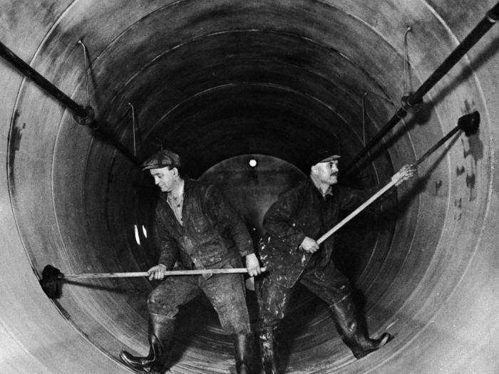 Архивные и редкие снимки времен сухого закона в США (20 фото)
