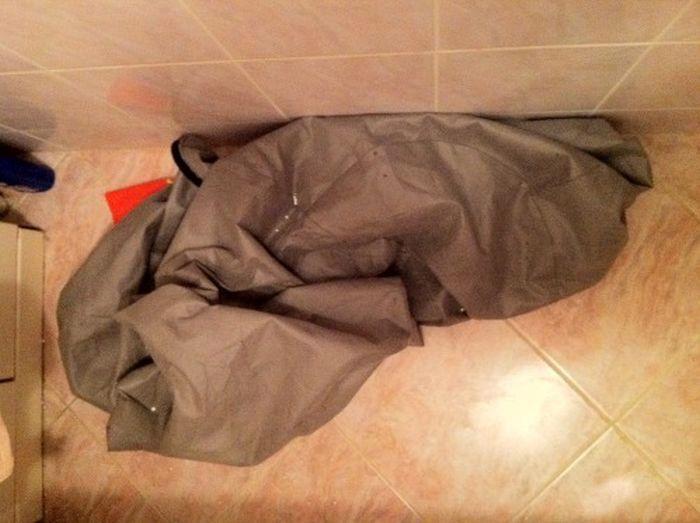 Экшен: почему нельзя стирать пенопласт (5 фото)