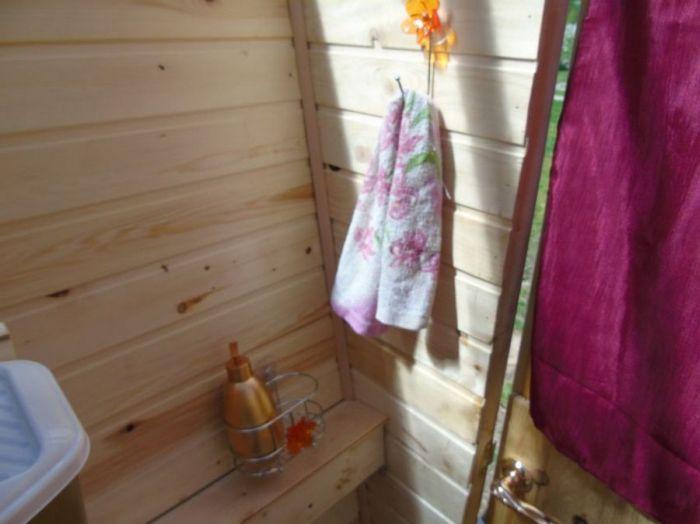 """""""Королевский туалет"""" на дачном участке своими руками (30 фото)"""