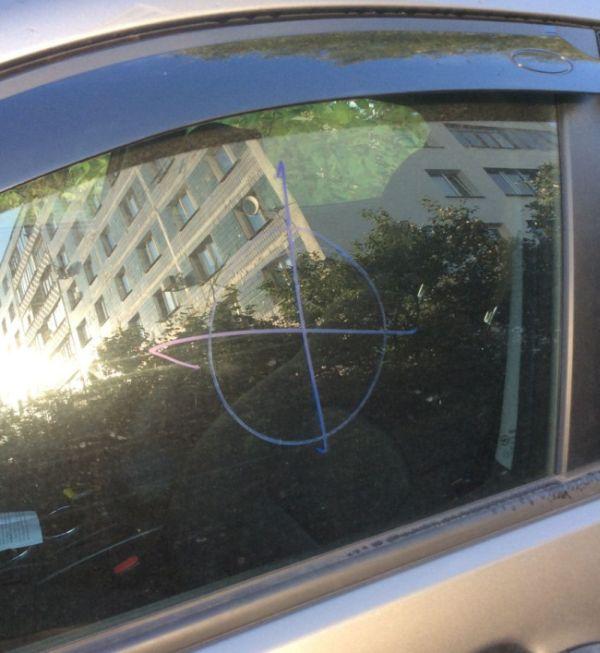 Автомобильные разводилы совсем обнаглели (2 фото)