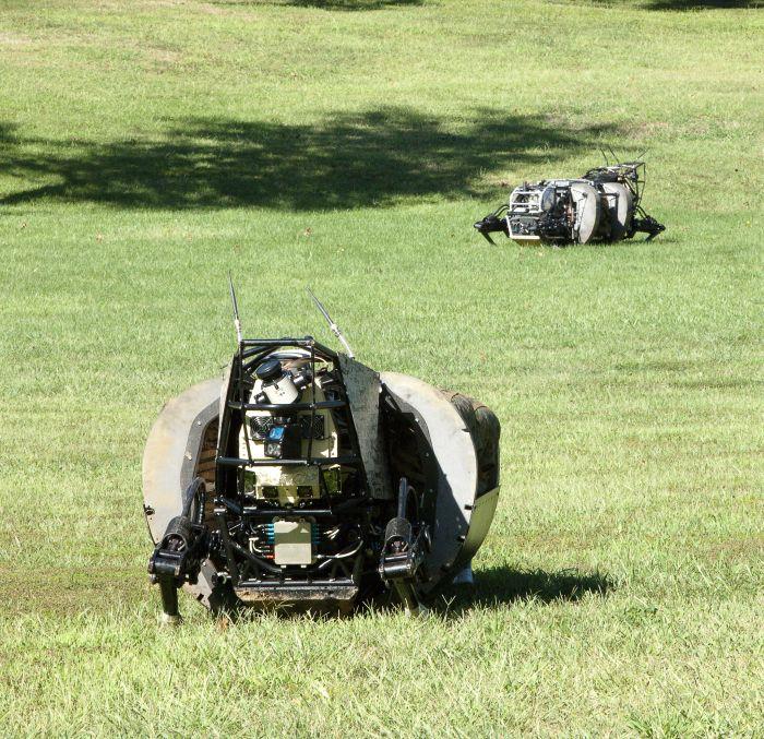 LS3: американский военный робот-помощник (26 фото)