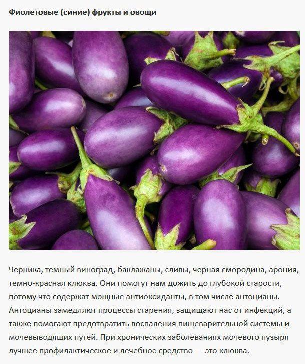 Что можно узнать о фруктах и овощах по их цвету (6 фото)