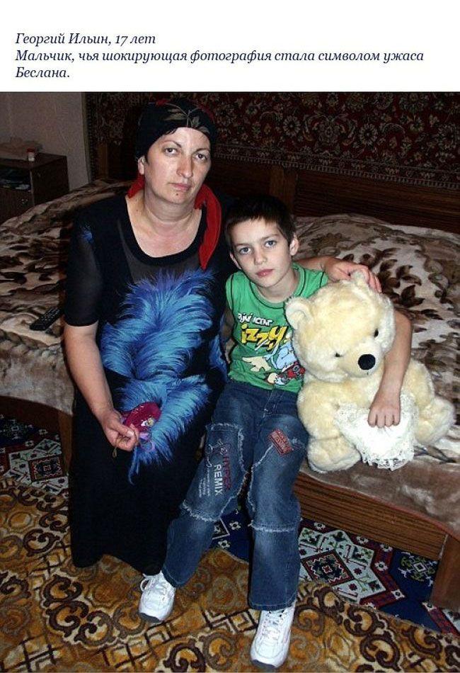Дети, выжившие во время теракта в Беслане: 10 лет спустя (12 фото)