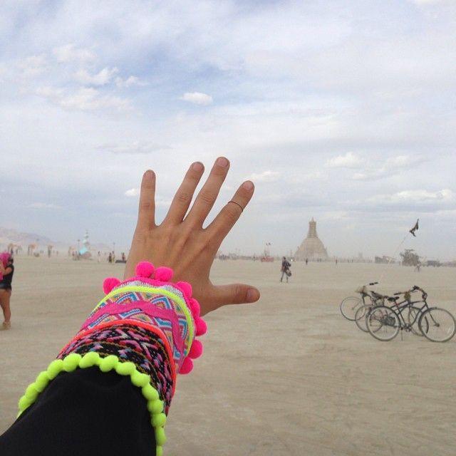 """Закрытие фестиваля """"Burning Man 2014"""" в Неваде (52 фото)"""