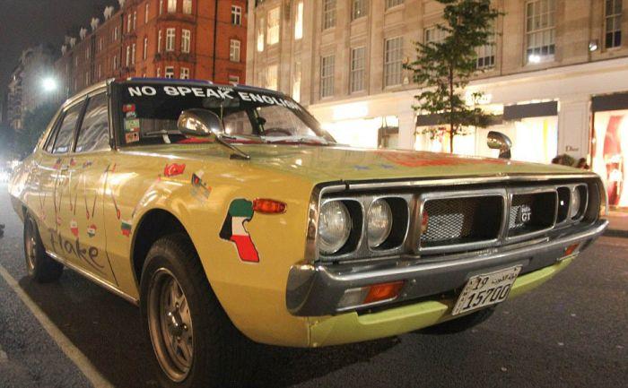"""Парад"" супер-каров в Лондоне (21 фото)"