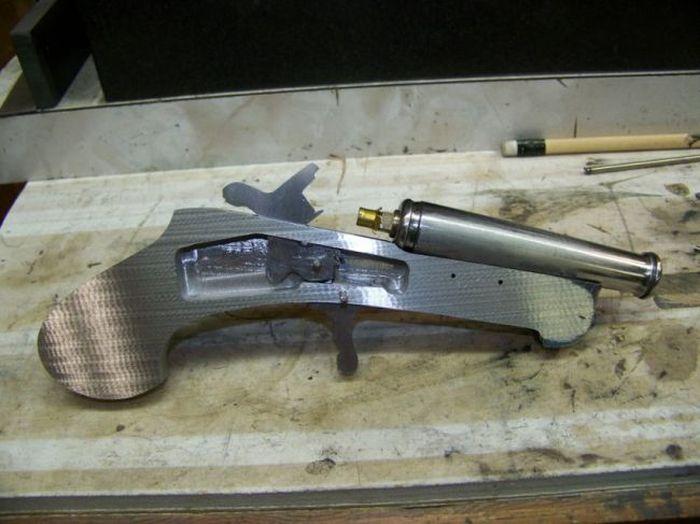 Боевой нож своими руками фото