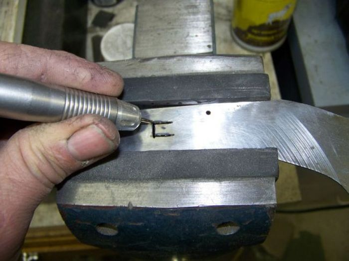 Изготовление креативного складного ножа своими руками (56 фото)