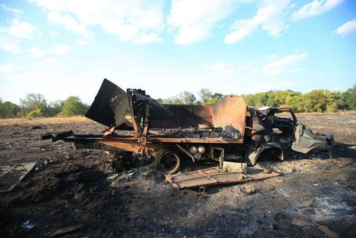 Последствия военных действий на Украине (78 фото)