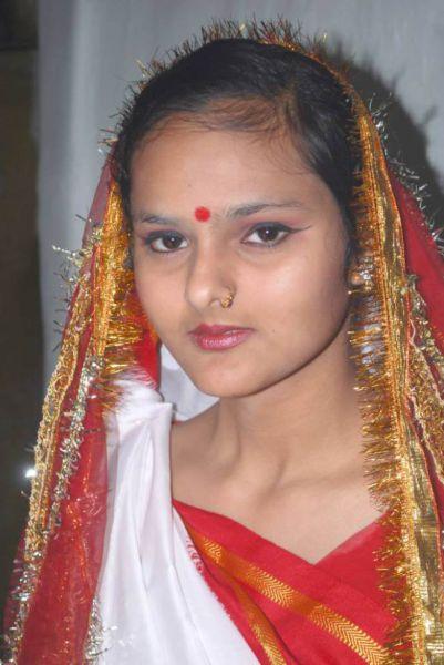 Шокирующая свадьба по-индийски (13 фото)