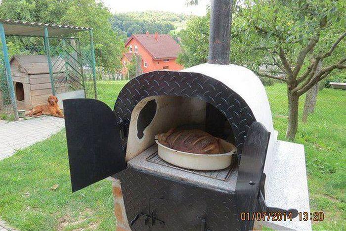 Хлебопечка из старой ванны своими руками (7 фото)