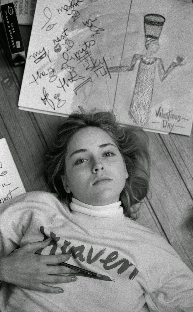 Фотосессия молодой Шэрон Стоун в 1983 году (16 фото)
