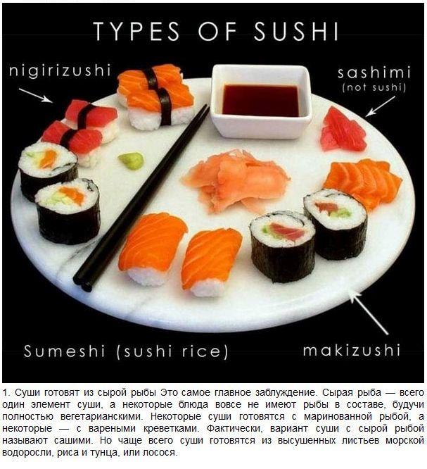 Разрушаем мифы про Суши (7 фото)