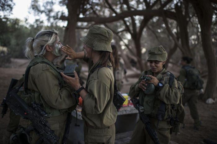 Девушки в израильской армии (35 фото)