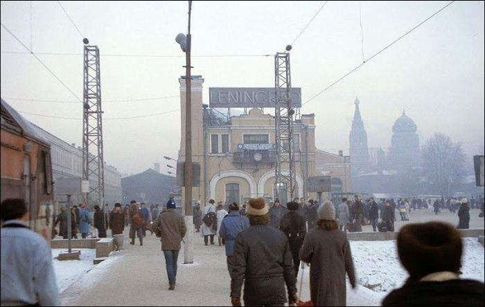"""Города России """"тогда и сейчас"""" (84 фото)"""
