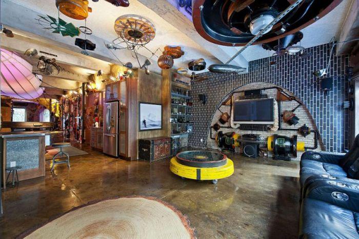 Дизайн интерьеров домов настоящих киноманов (30 фото)