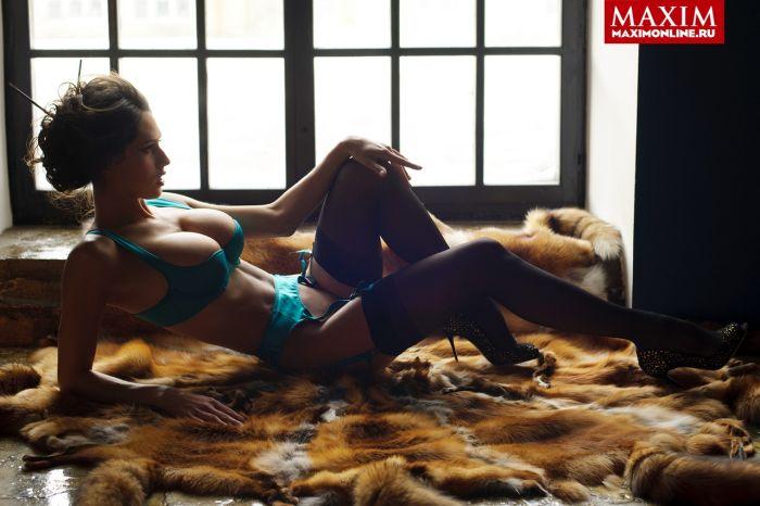 """Финалистки конкурса красоты """"Miss Maxim 2014"""" (14 фото)"""
