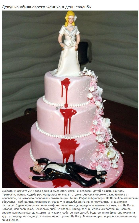 Отчаянные способы сорвать свою свадьбу (6 фото)