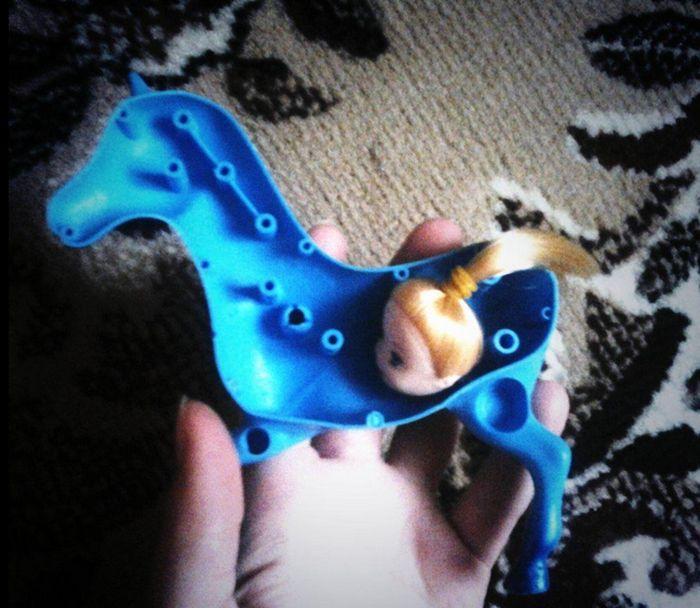 Китайская игрушка Пони (2 фото)