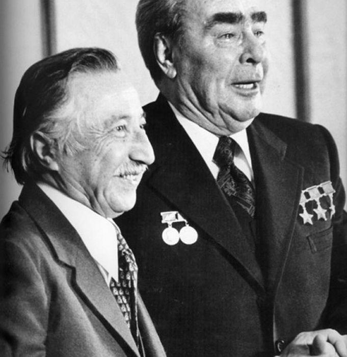 Факты из жизни Брежнева, рассказанные его личным фотографом (16 фото)