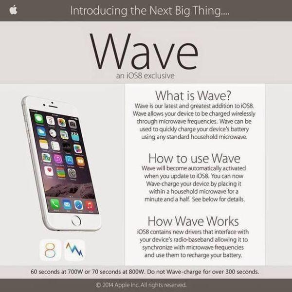 Айфон в микроволновке