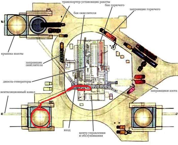 Заброшенная шахта баллистической ракеты (24 фото)