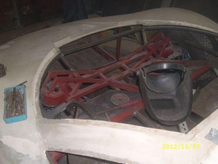 Самодельный автомобиль своими руками