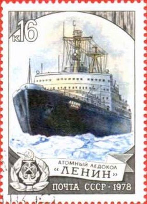 """Факты о первом в мире атомном ледоколе """"Ленин"""" (20 фото)"""