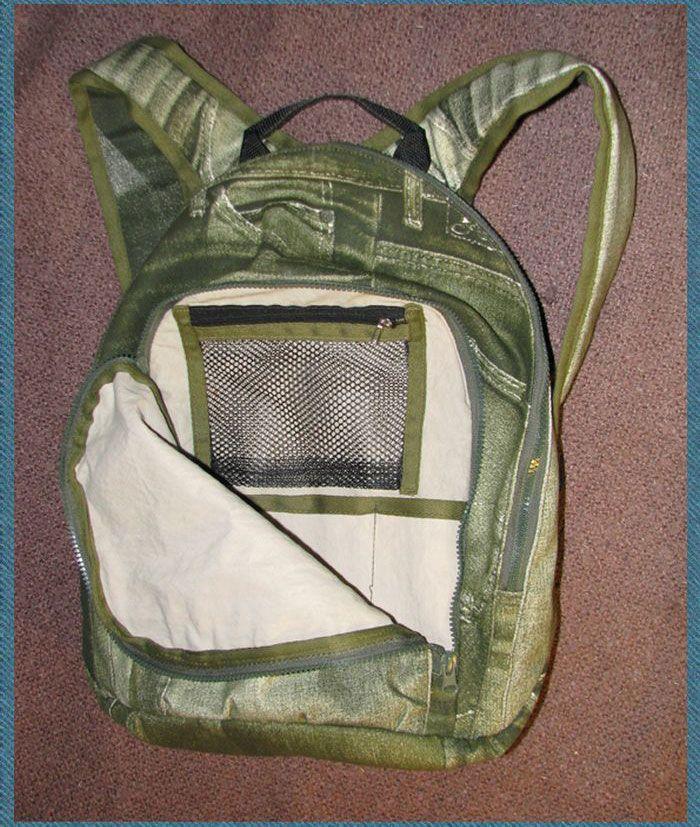 Делаем креативный рюкзак своими руками (23 фото)