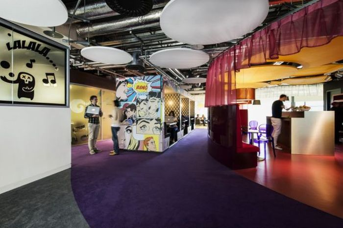 Креативный офис компании Google в Дублине (75 фото)