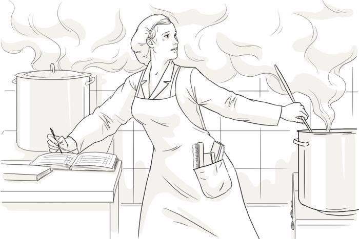 Нюансы профессии: повар в детском саду (7 фото)