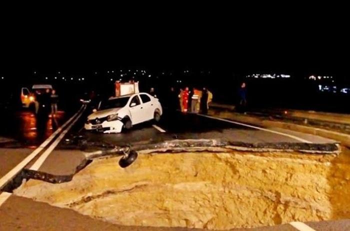 Жуткое происшествие на дороге в Крыму (11 фото + видео)