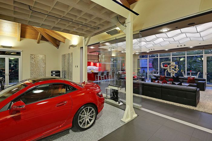 Необычный особняк-гараж в Вашингтоне (19 фото)
