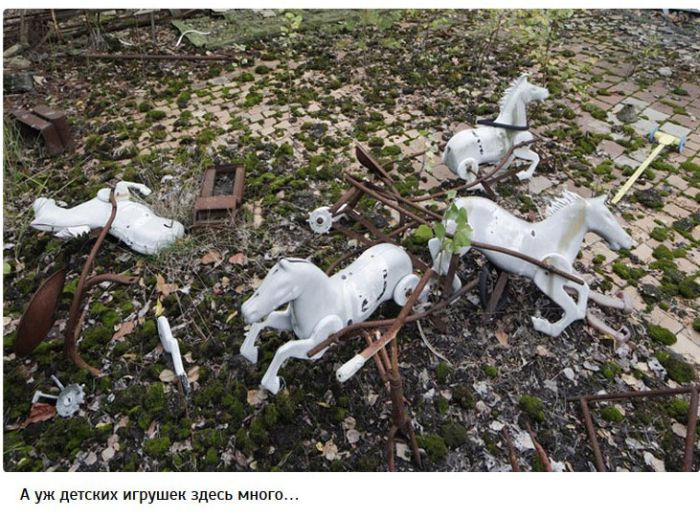 Туристы в Чернобыльской Зоне Отчуждения (11 фото)