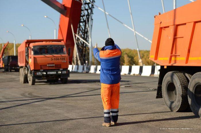 Открытие Бугринского моста