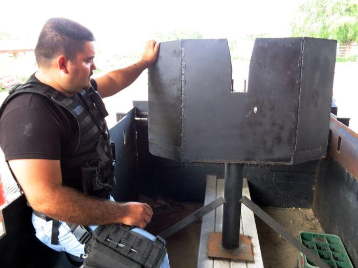 Самодельные броневики мексиканской наркомафии (14 фото)