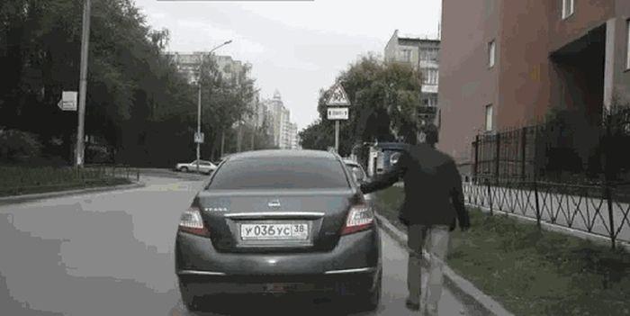 Не попадитесь на уловку автоугонщиков (4 фото)