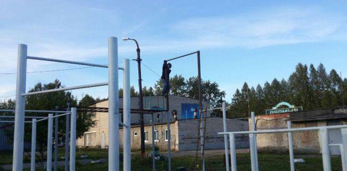 Спортивная площадка для молодежи своими руками (100 фото)