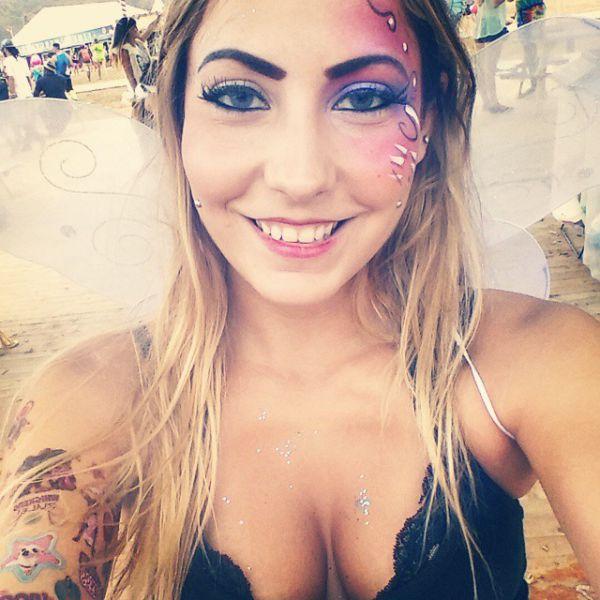 "Девушки с фестиваля ""Tomorrowland 2014"" (38 фото)"