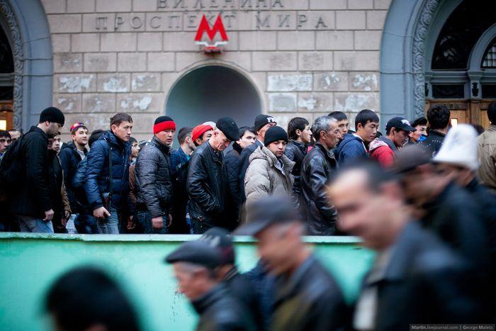 Курбан-байрам в Москве (30 фото)