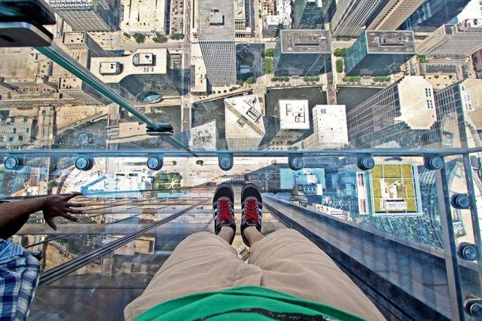 Достопримечательности с высоты птичьего полета (30 фото)