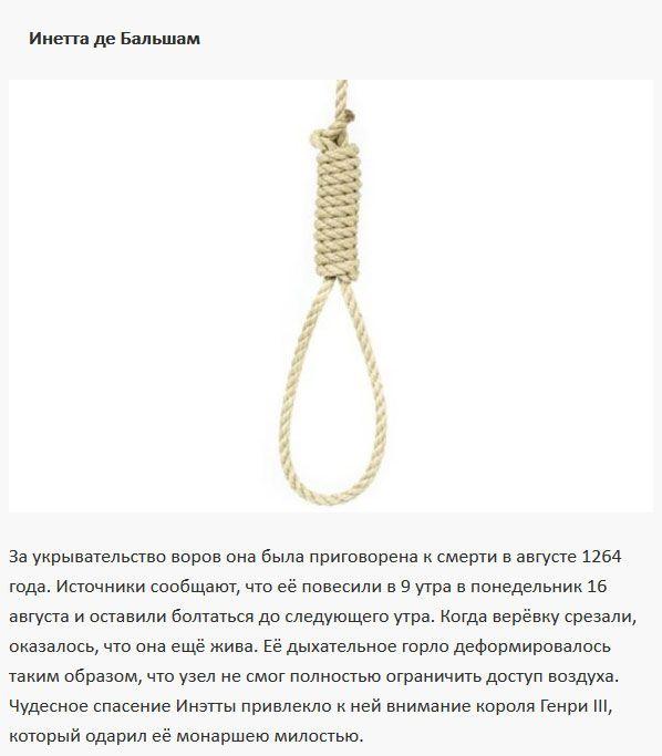 Люди, перехитрившие смерть (9 фото)