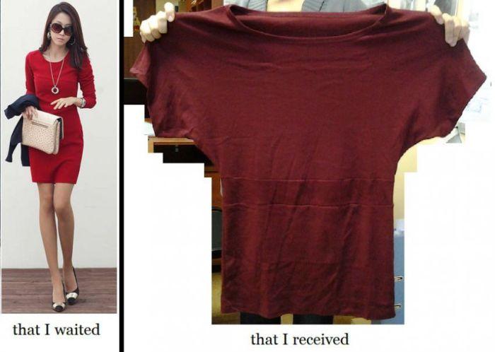 Дешевая китайская одежда - ожидание и реальность (36 фото)