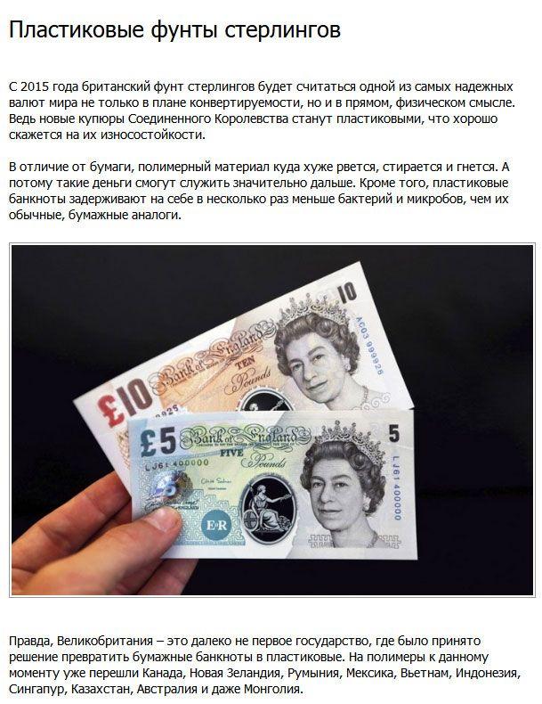 Самые необычные банкноты современного времени (9 фото)