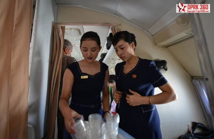 Внутренние авиалинии Северной Кореи: интересный фотоотчет (22 фото)