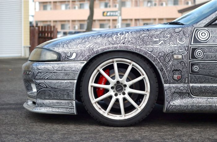 Покраска автомобиля (14 фото)